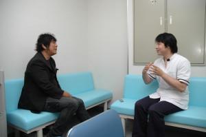 プロレスラー・元参議院議員の大仁田厚さんを施術しました。